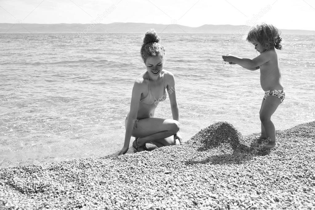 Мама Нудист На Пляже - Нудизм И Натуризм