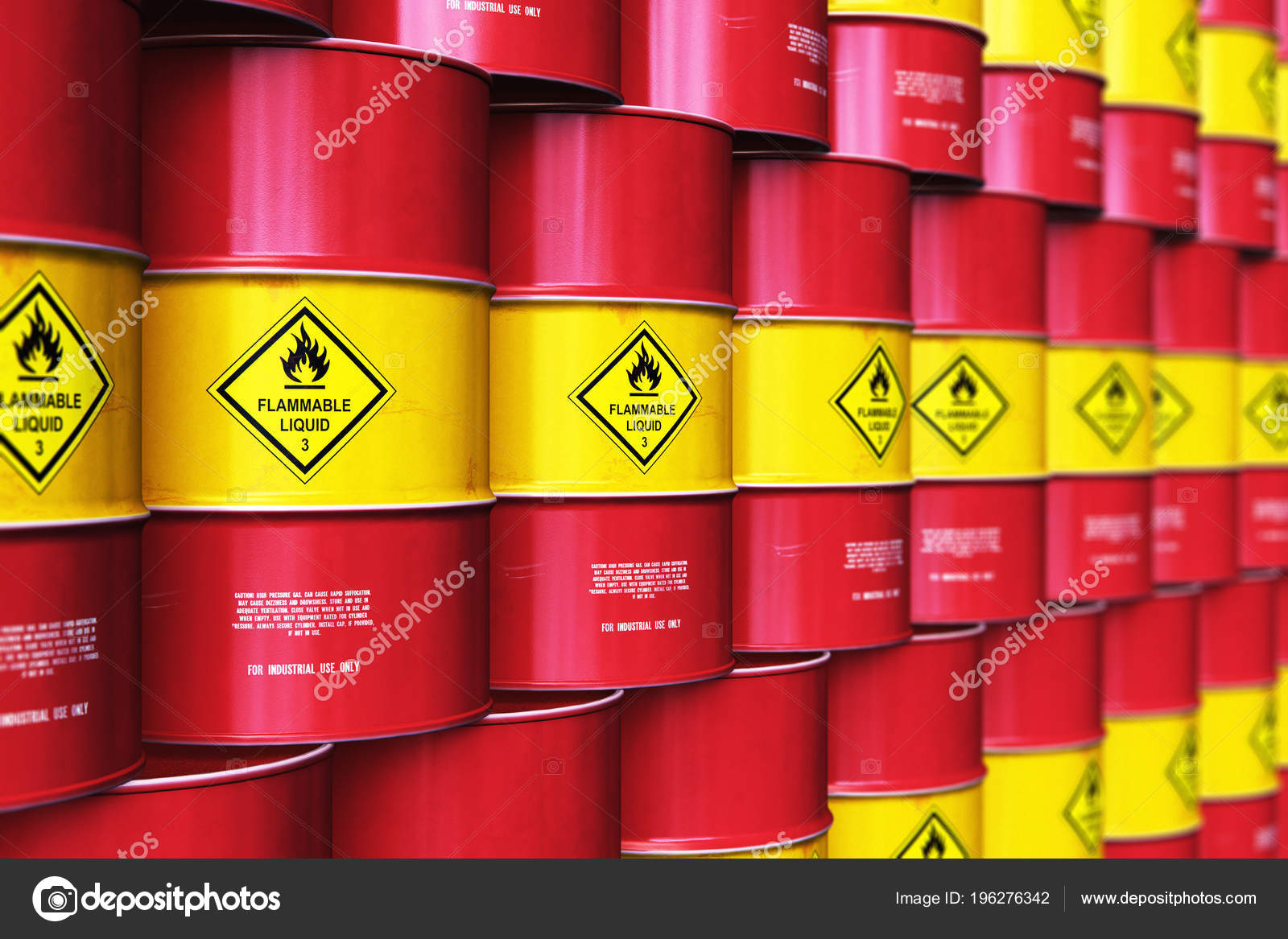 Creative Abstract Oil Gas Industry Manufacturing Trading Business