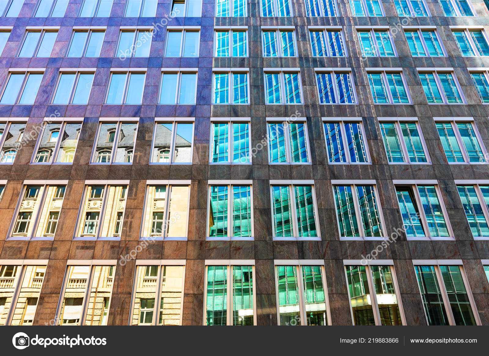 Creatieve abstracte architecturale stijl contrast achtergrond oud