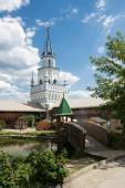 Photo Courtyard in Izmaylovsky Kremlin. Traditional Russian architecture