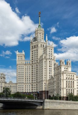 Kotelnicheskaya Embankment Building, one of seven Stalinist skyscrapers in Moscow