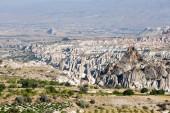 Photo mountain landscape. Cappadocia, Anatolia, Turkey.