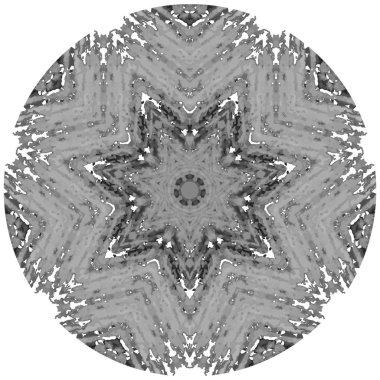 Mandala circular pattern
