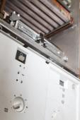 Blick auf die zerlegten Gas-Brennwertkessel für Reparatur