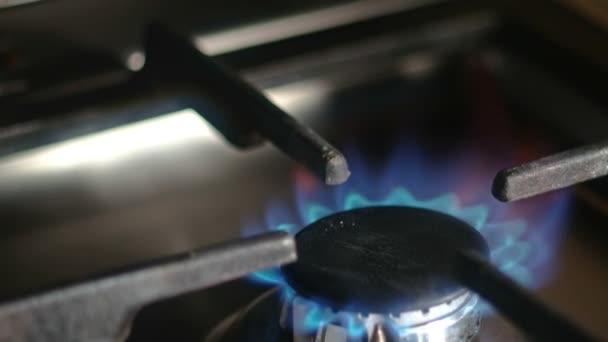Detailní pracovní zemního plynu sporák