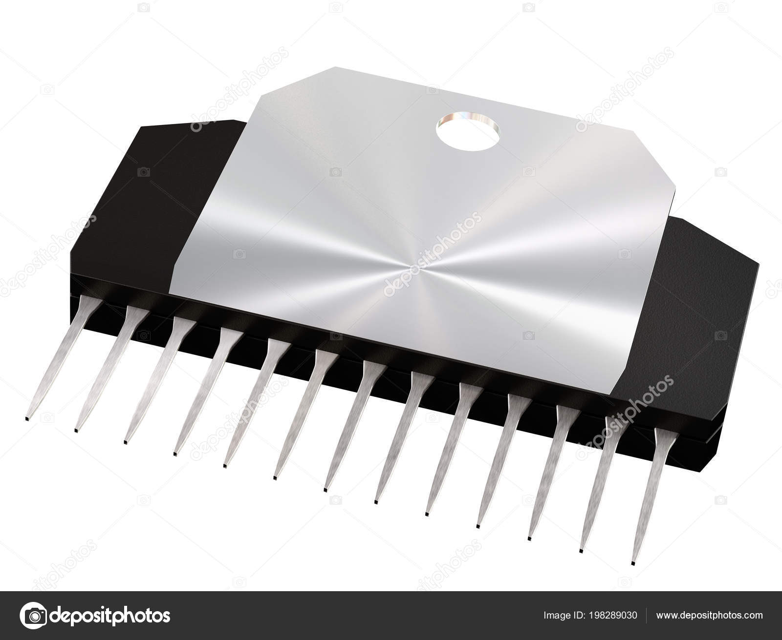 Integrated Circuit Or Micro Chip And New Technologies On Isolated Electronic Royalty Free Stock Image Photo