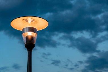 outdoor lanter over sky
