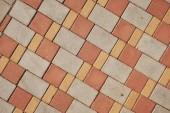 Fotografie barvy kámen dlažební desky pozadí. Texturu cihel