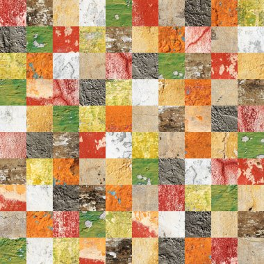 Seamless background with stucco patterns of different colors. Endless texture can be used for wallpaper, pattern fills, web page background, surface textures stock vector
