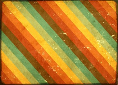 Vintage grunge background with old paper texture and striped pattern stock vector