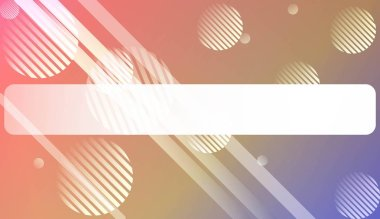 Abstract Blurred Gradient Background with Line, Circle. With Light. For Bright Website Banner, Invitation Card, Scree Wallpaper. Vector Illustration.