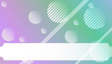 """Картина, постер, плакат, фотообои """"Размытый декоративный дизайн в абстрактном стиле с , кривые линии, круг, пространство для текста. Для футуристической рекламы, буклеты. Векторная иллюстрация с градиентом цвета."""", артикул 277413688"""
