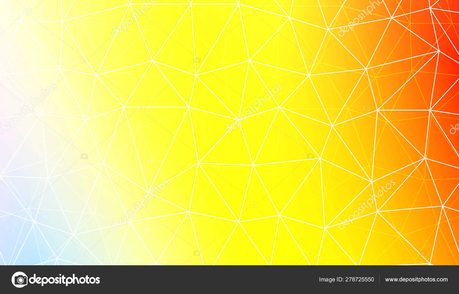 Modern Pattern In Polygonal Pattern With Triangles Style