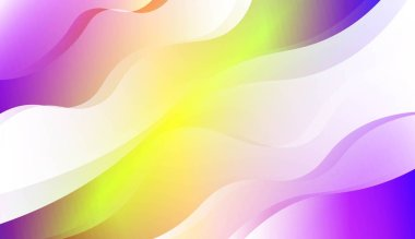 Modern Wavy Background. For Creative Templates, Cards, Color Covers Set. Vector Illustration with Color Gradient.