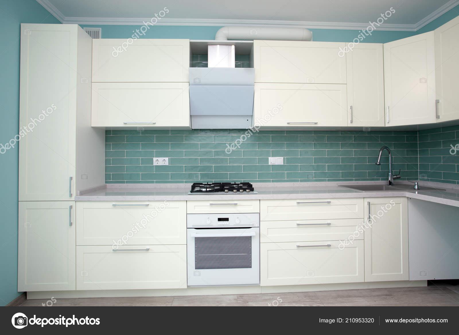 Modern White Kitchen Clean Interior Design Elegant Kitchen Luxury