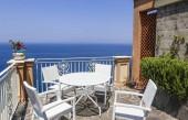 Vista dallhotel Mediterraneo. Vico Equense. Italia