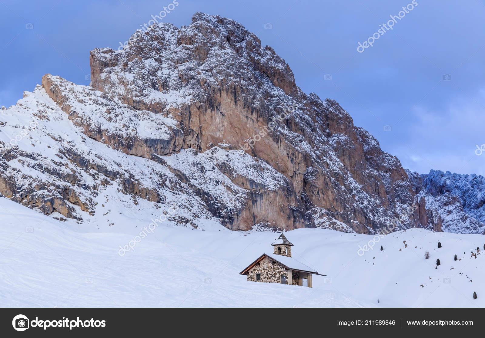 ski resort selva val gardena italy — stock photo © nikolpetr #211989846