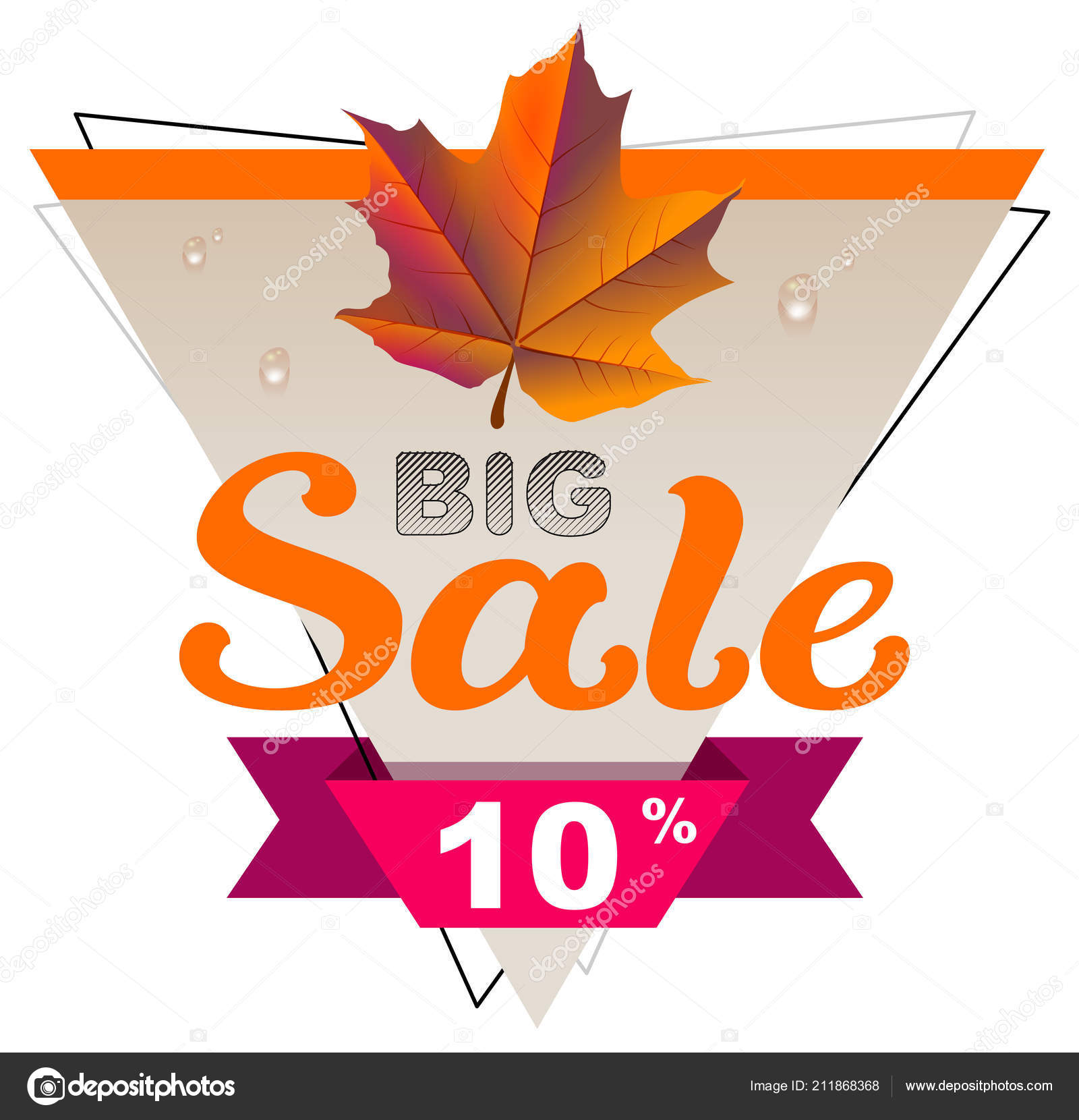 Coupon maple leaf