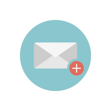 new mail, simple vector illustration