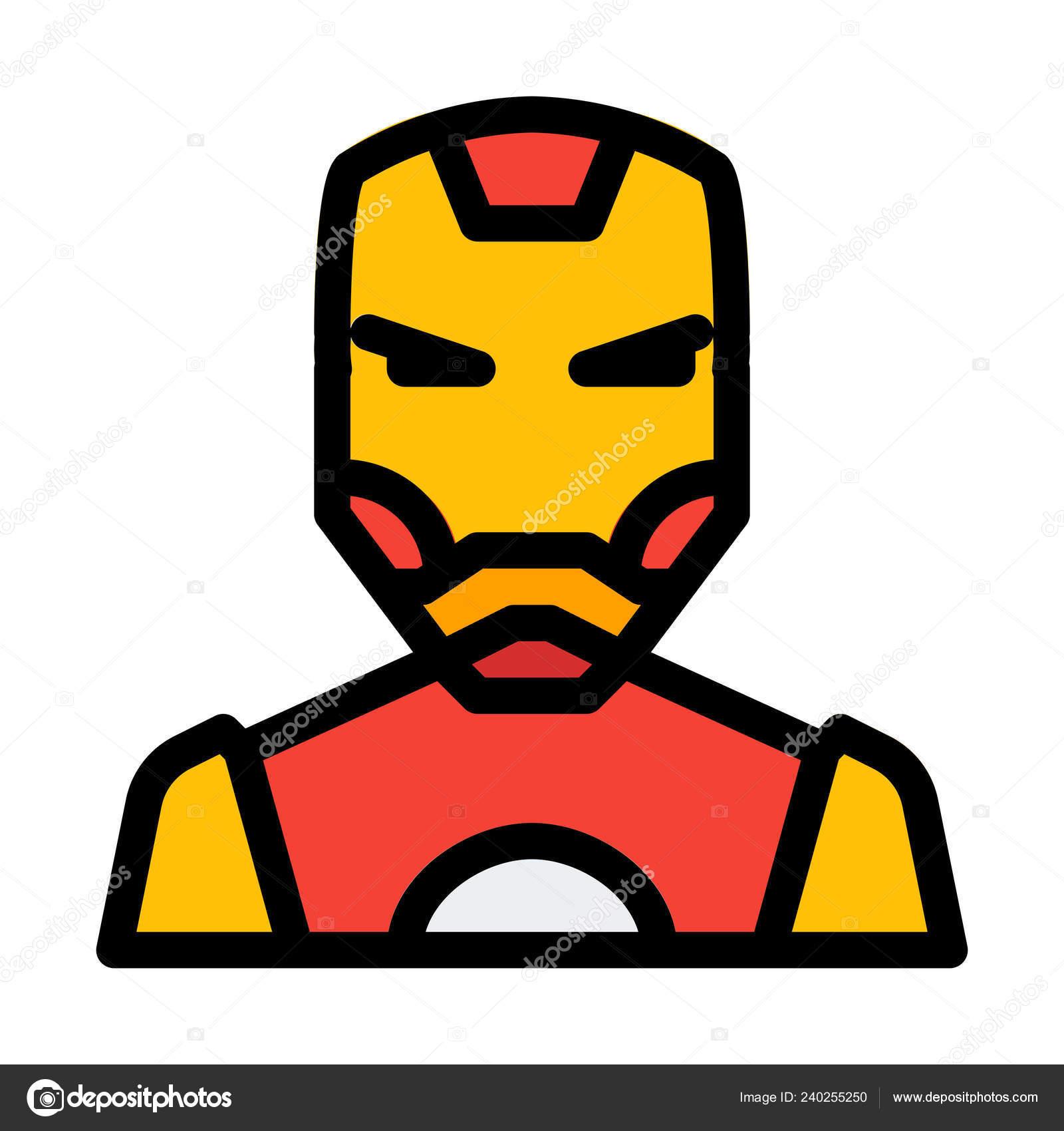 Áˆ Iron Man Cartoon Drawing Stock Illustrations Royalty Free Iron Man Cliparts Download On Depositphotos