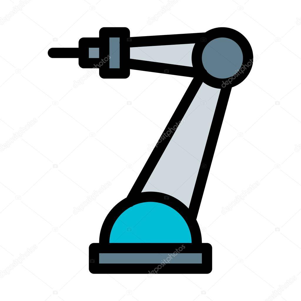 Welding Arm Robot Vector Illustration Premium Vector In Adobe Illustrator Ai Ai Format Encapsulated Postscript Eps Eps Format