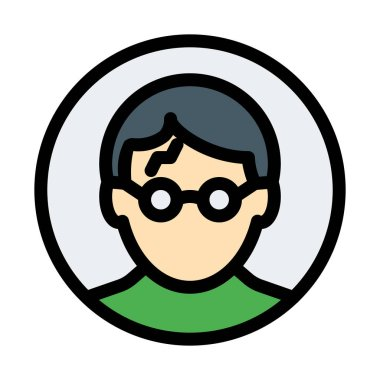 harry potter, simple icon