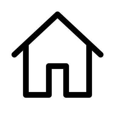 Home, residential place background close up isolated