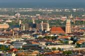 Luftbild von München. München, Bayern, Deutschland