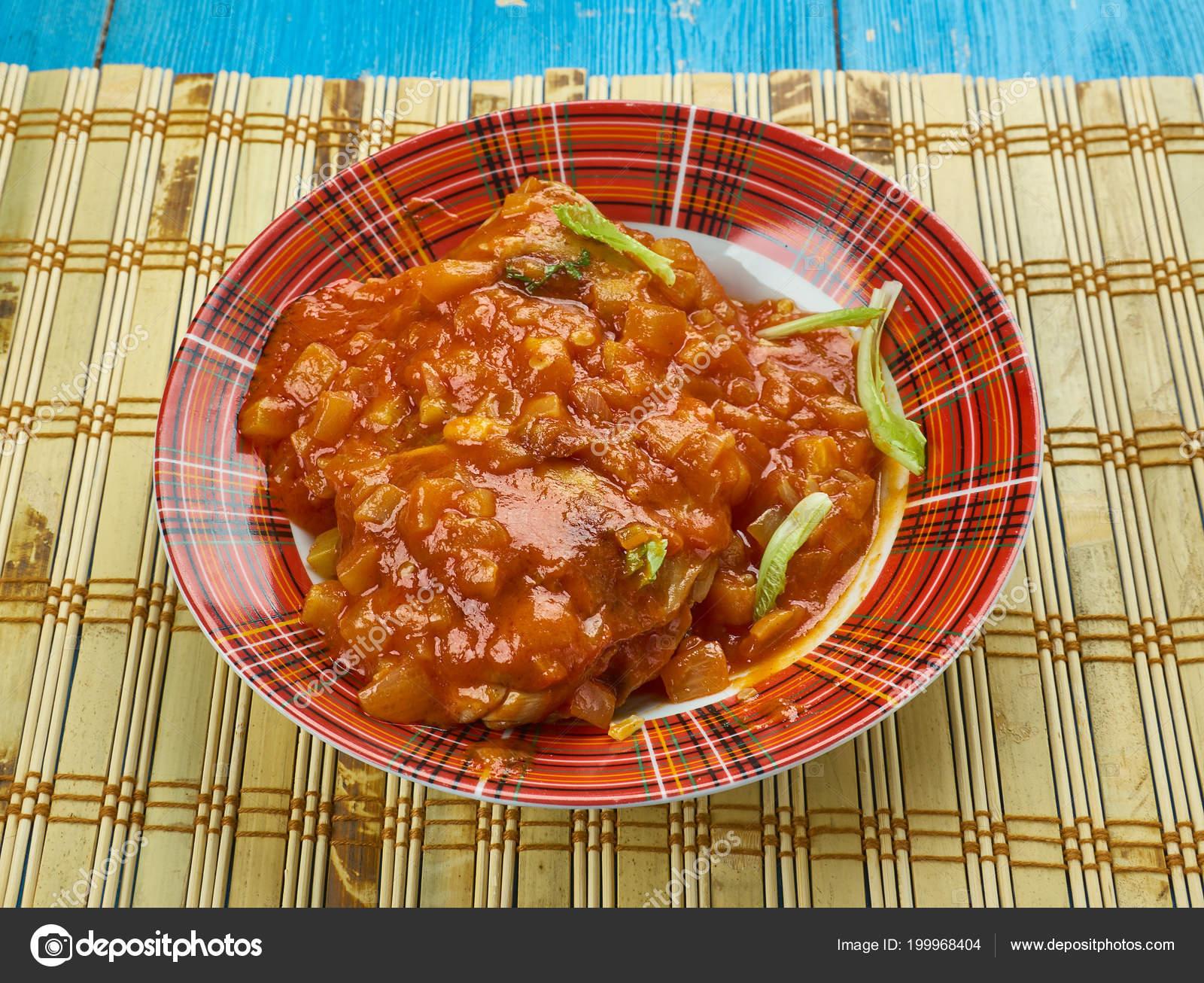 Kadhai Murg Kadhai Chicken Cooked Wok Chicken Karahi — Stock
