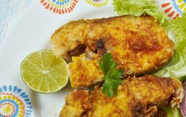 Tawa Fish Fry - Bangude fish masala fry