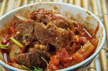 Rampuri korma, Rampuri cuisine, Mutton legs cooked in thick gravy