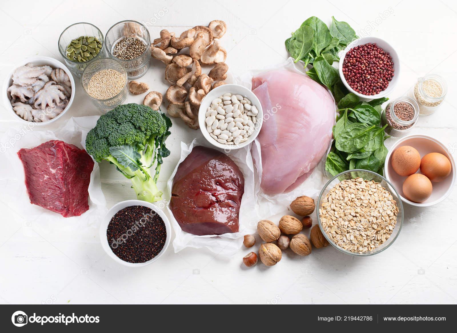 El hierro en la dieta