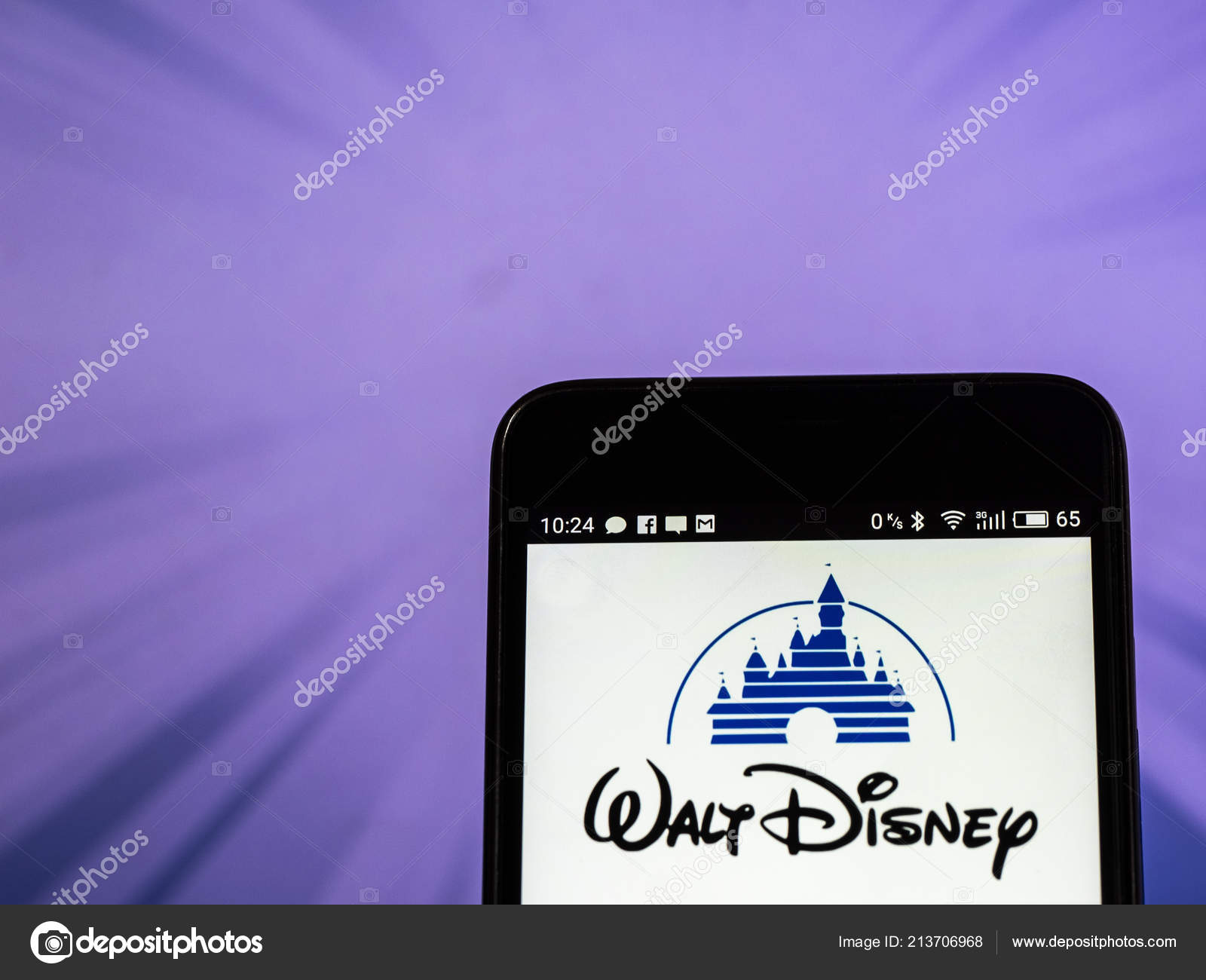 Tkiev Ukraine Sept 2018 Walt Disney Company Logo Seen Displayed