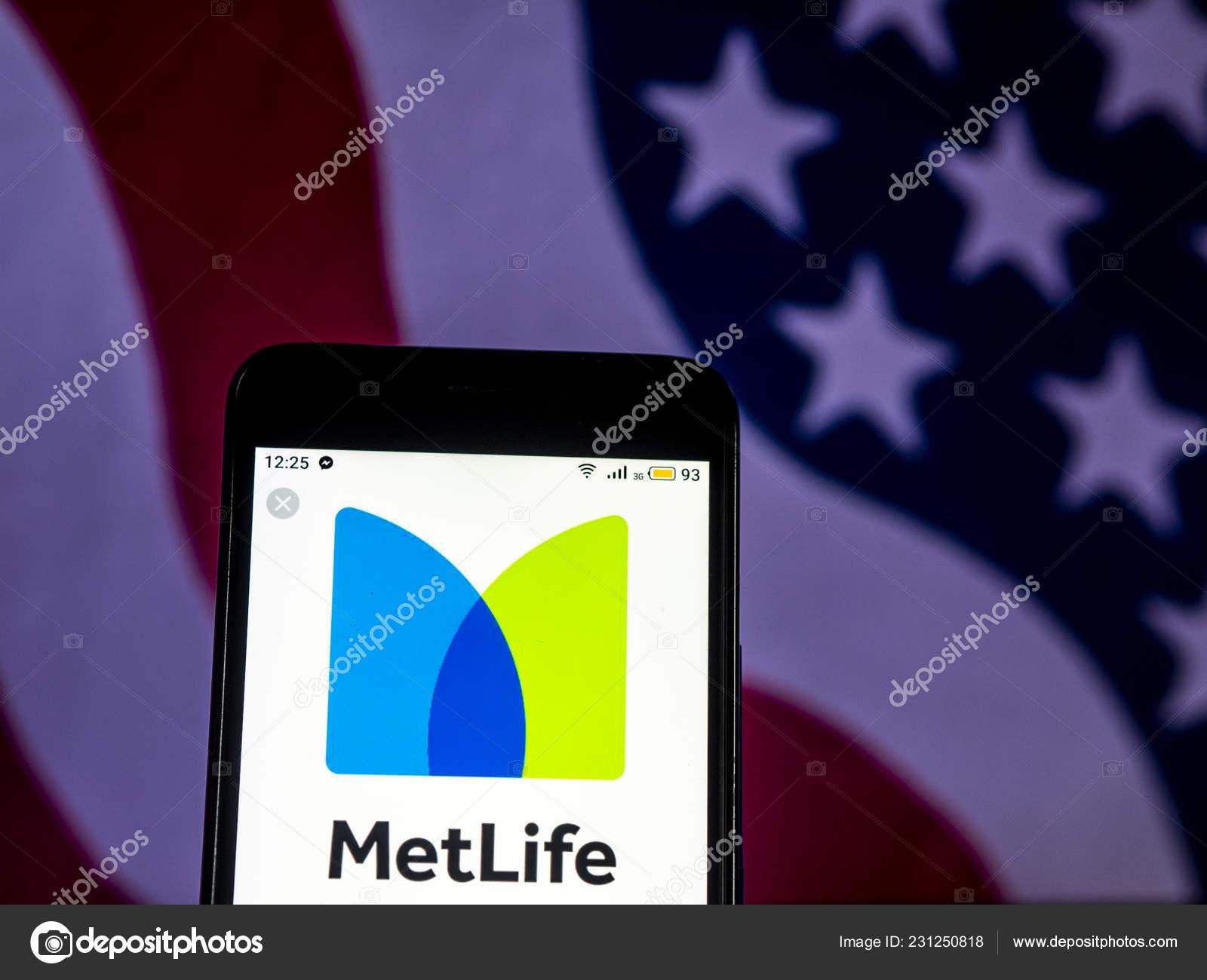Metlife Life Insurance >> Kiev Ukraine Dec 2018 Metlife Life Insurance Company Logo
