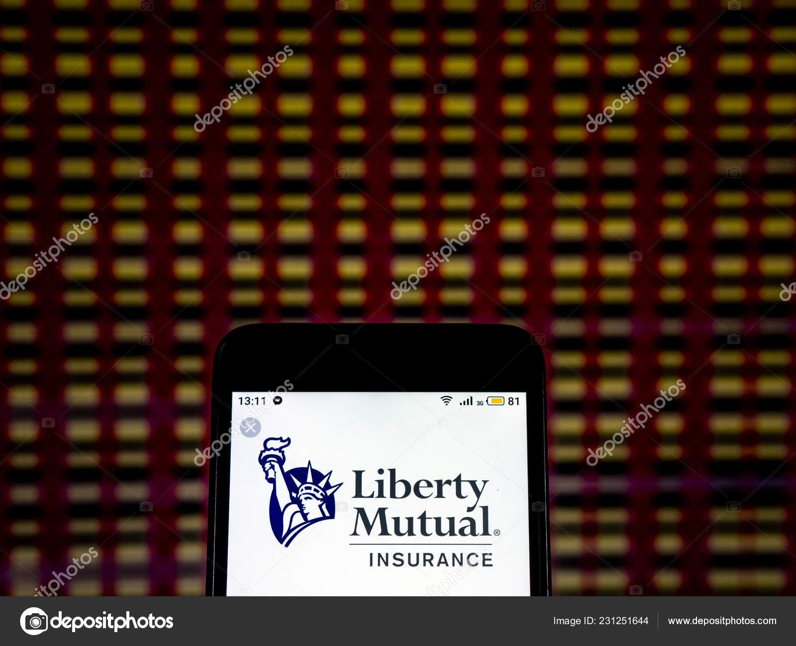 Liberty Insurance Phone Number >> Kiev Ukraine Dec 2018 Liberty Mutual Insurance Company Logo