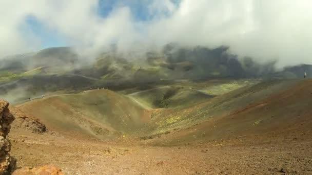 Crateri Silvestri Superiori su Monte Etna, Sicilia, Italia