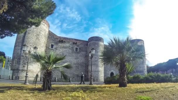 Castello Ursino a Catania, Sicilia, Italia