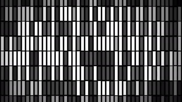 Abstraktní pozadí s animací částic blikání