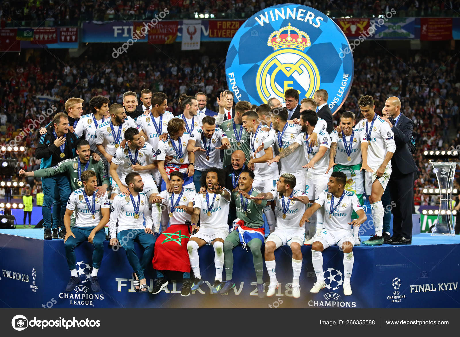 uefa champions league final 2018 real madrid v liverpool stock editorial photo c katatonia82 266355588 https depositphotos com 266355588 stock photo uefa champions league final 2018 html