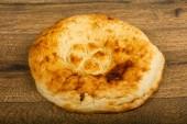 Kavkazská Lavash chléb dřevěné pozadí