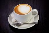 Fotografie Delicious cup of latte coffee