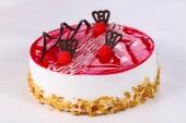 Sladký chutný dort s krémem