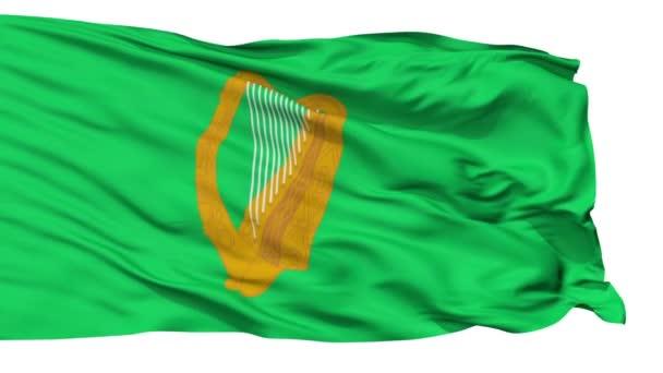 Námořní vlajka Jack Irsko, samostatný bezešvé smyčka