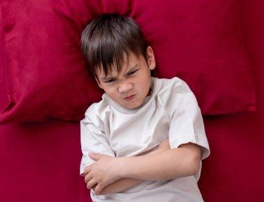 Naughty little boy wont go to sleep