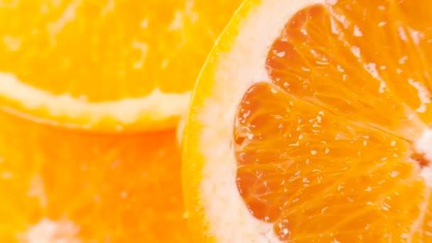 sliced ripe orange
