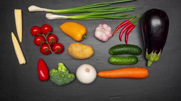 Čerstvá zralá zelenina