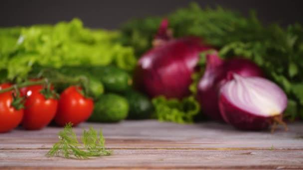 Növényi saláta ingidiens