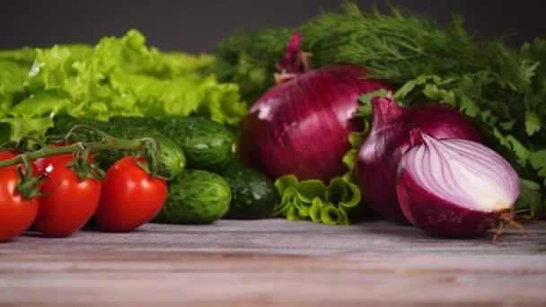 Vegetable salad ingridients