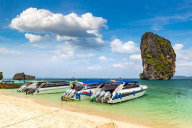 Poda island, Thailand in a summer day