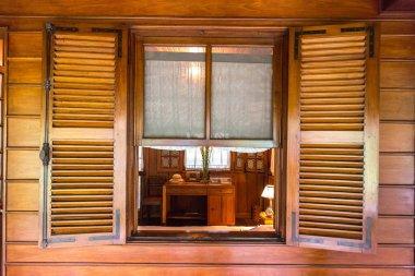 HANOI, VIETNAM - JUNE 7, 2018: Ho Chi Minh residence in a stilt house in Hanoi, Vietnam in a summer day
